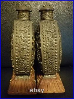 Pair of Very Beautiful and Large Chinese Snuff Bottles